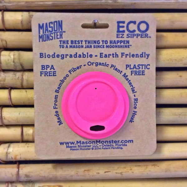 Eco EZ Sipper™ - Pink Regular Mouth