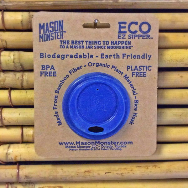 Eco EZ Sipper™ - Blue Regular Mouth