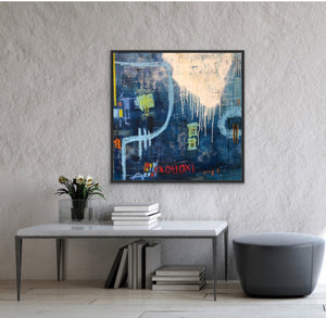 Time Travel | 36x36 | Modern art for sale
