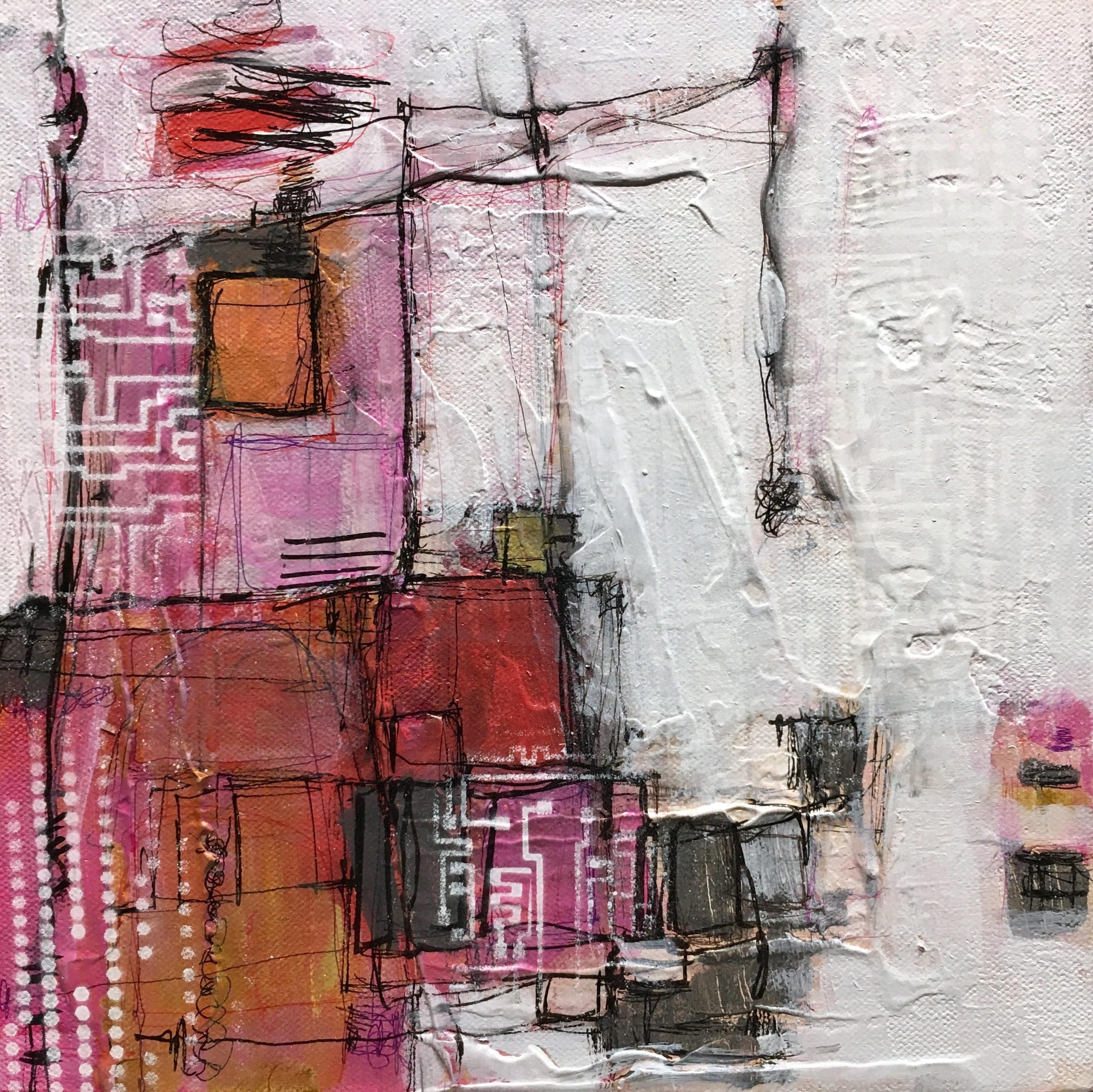Pink it up | 10x10 | Toronto paintings