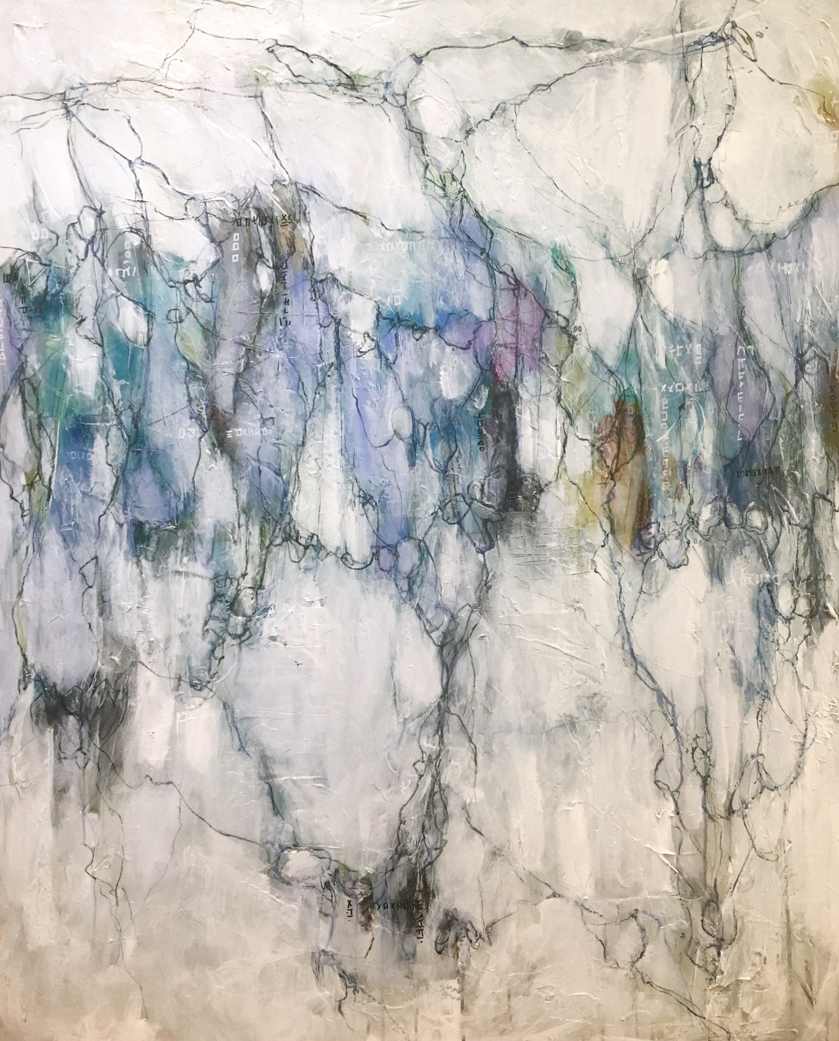 fine art paintings by abstract artist lori mirabelli