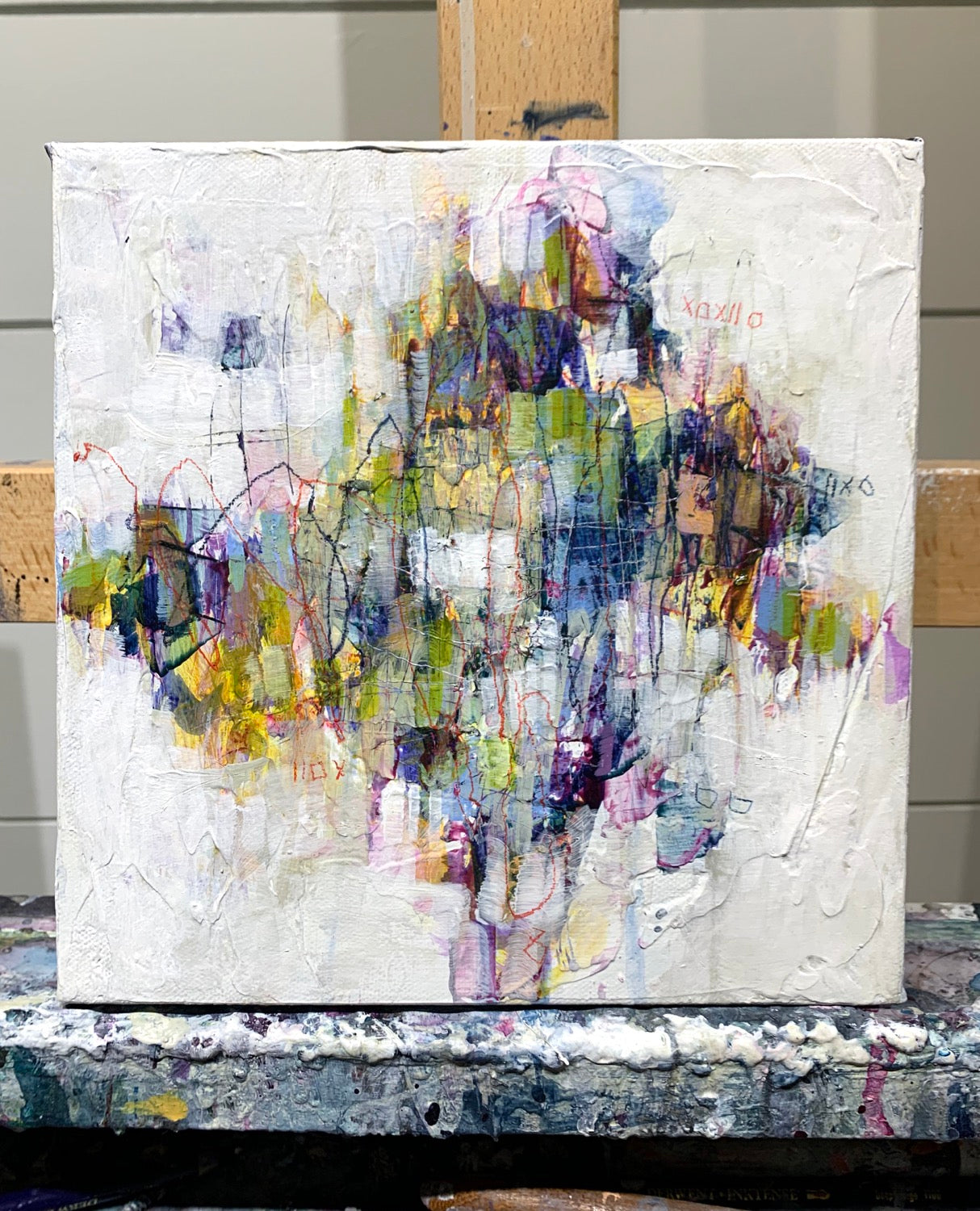 fine art abstract painting, art toronto canvas art