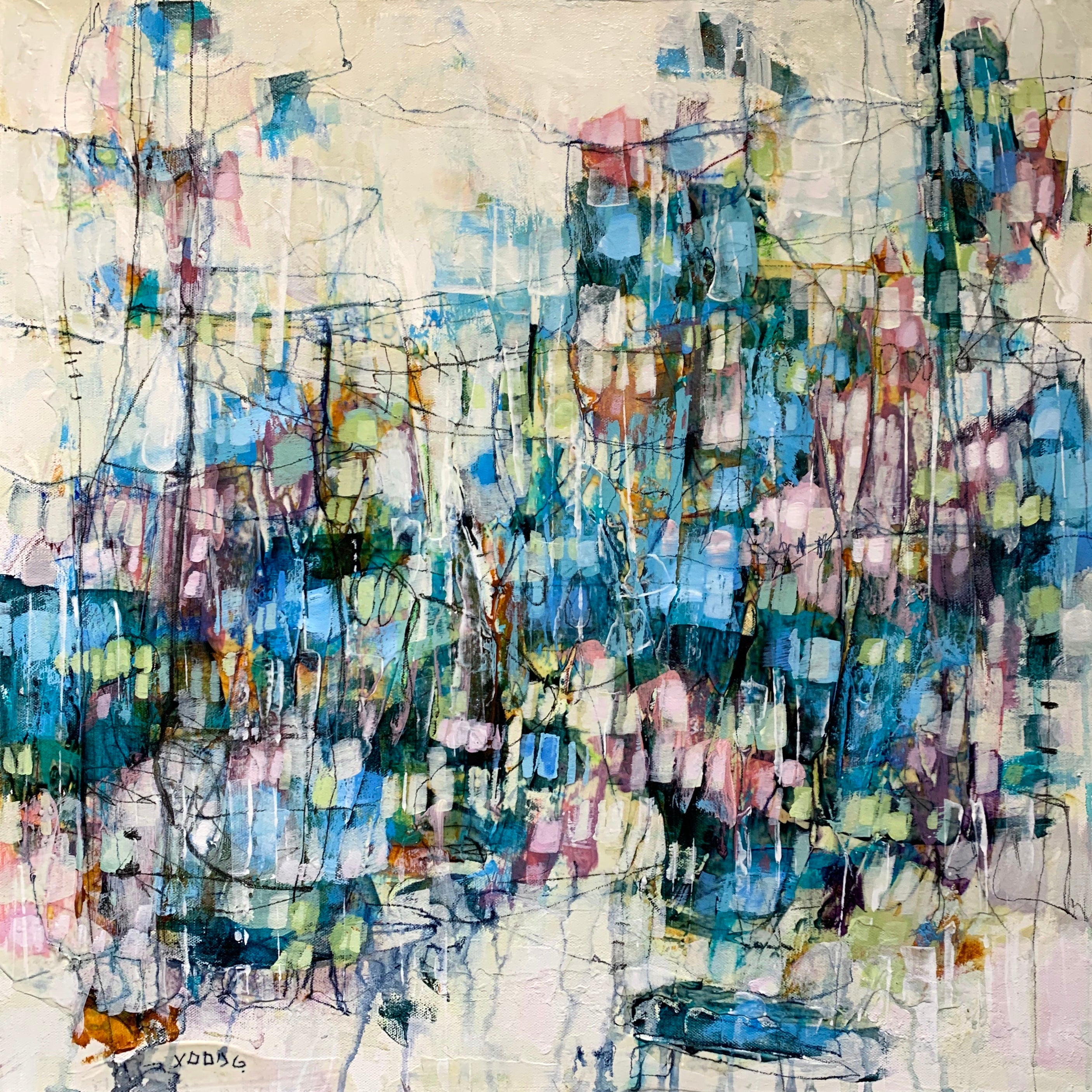 abstract artist fine art toronto art lori mirabelli