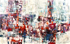 Moments in Time | 38x60 | Lori Mirabelli