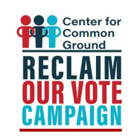 Reclaim our vote campaign logo