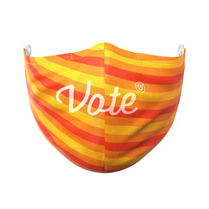 The Vote Mask hotlines front view