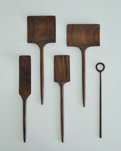 Hand Carved Walnut Wood Whisk