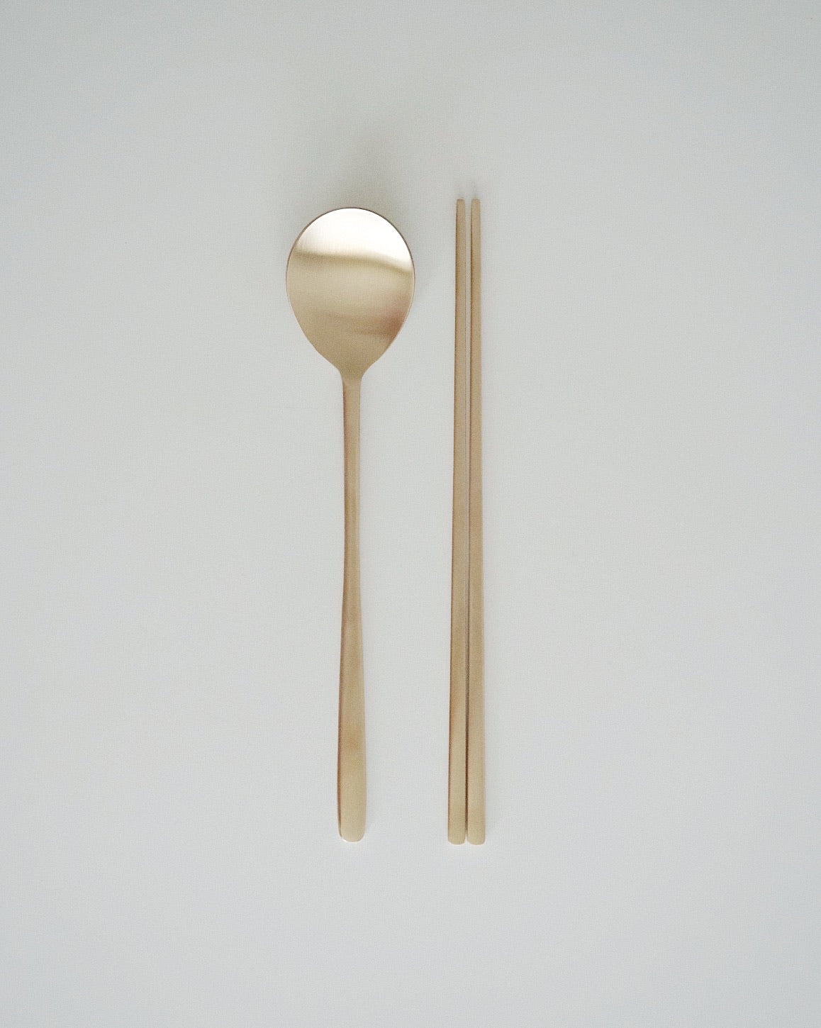 Korean Bangjja Chopstick and Spoon Set