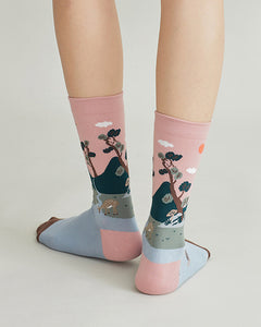 Fortune Socks - Crane