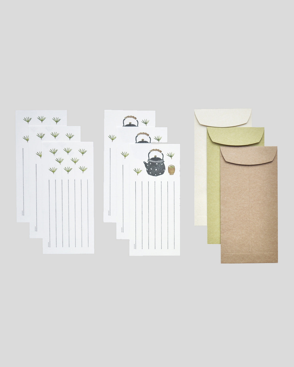 Letter Writing Set - Pine