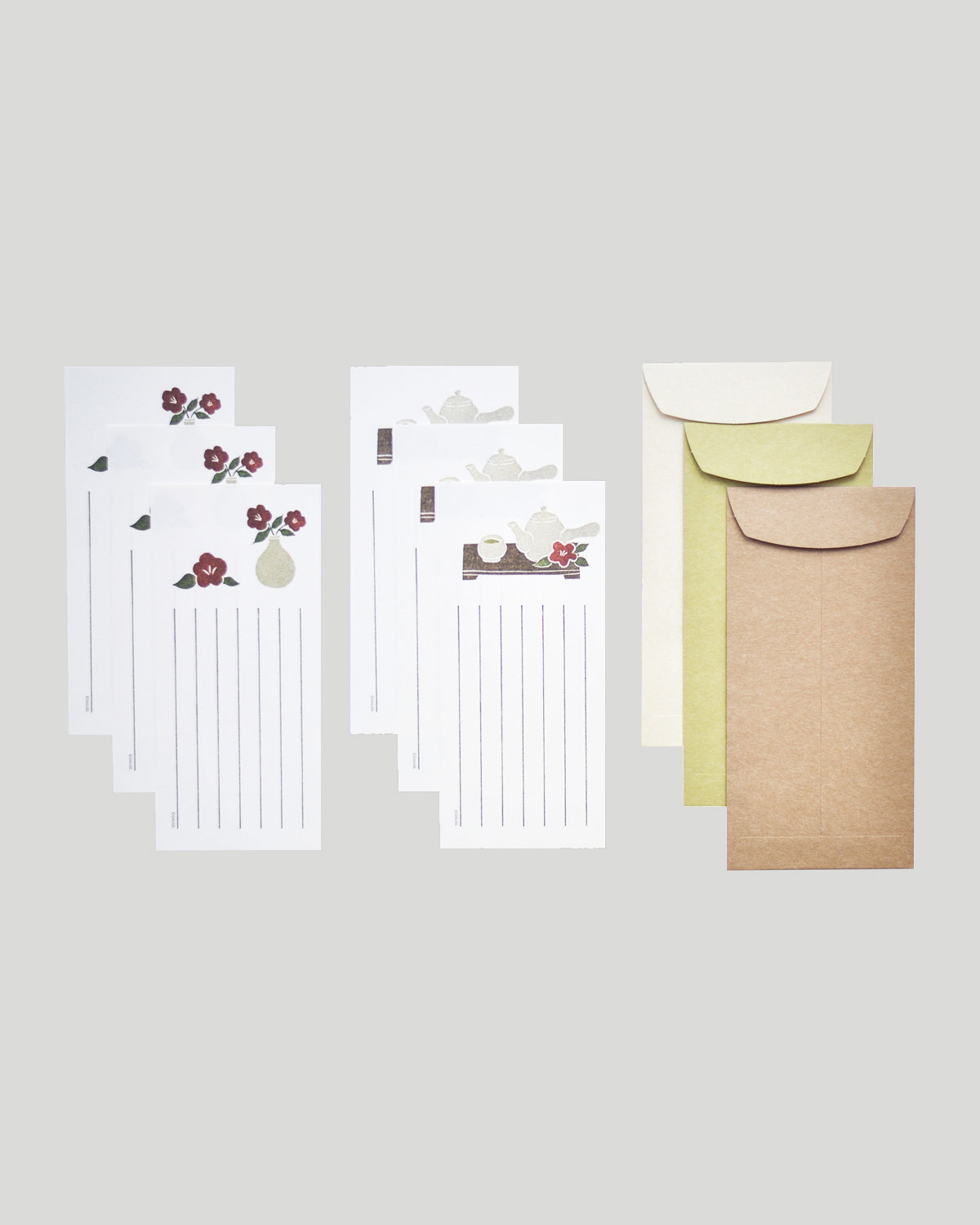Letter Writing Set - Tea Time