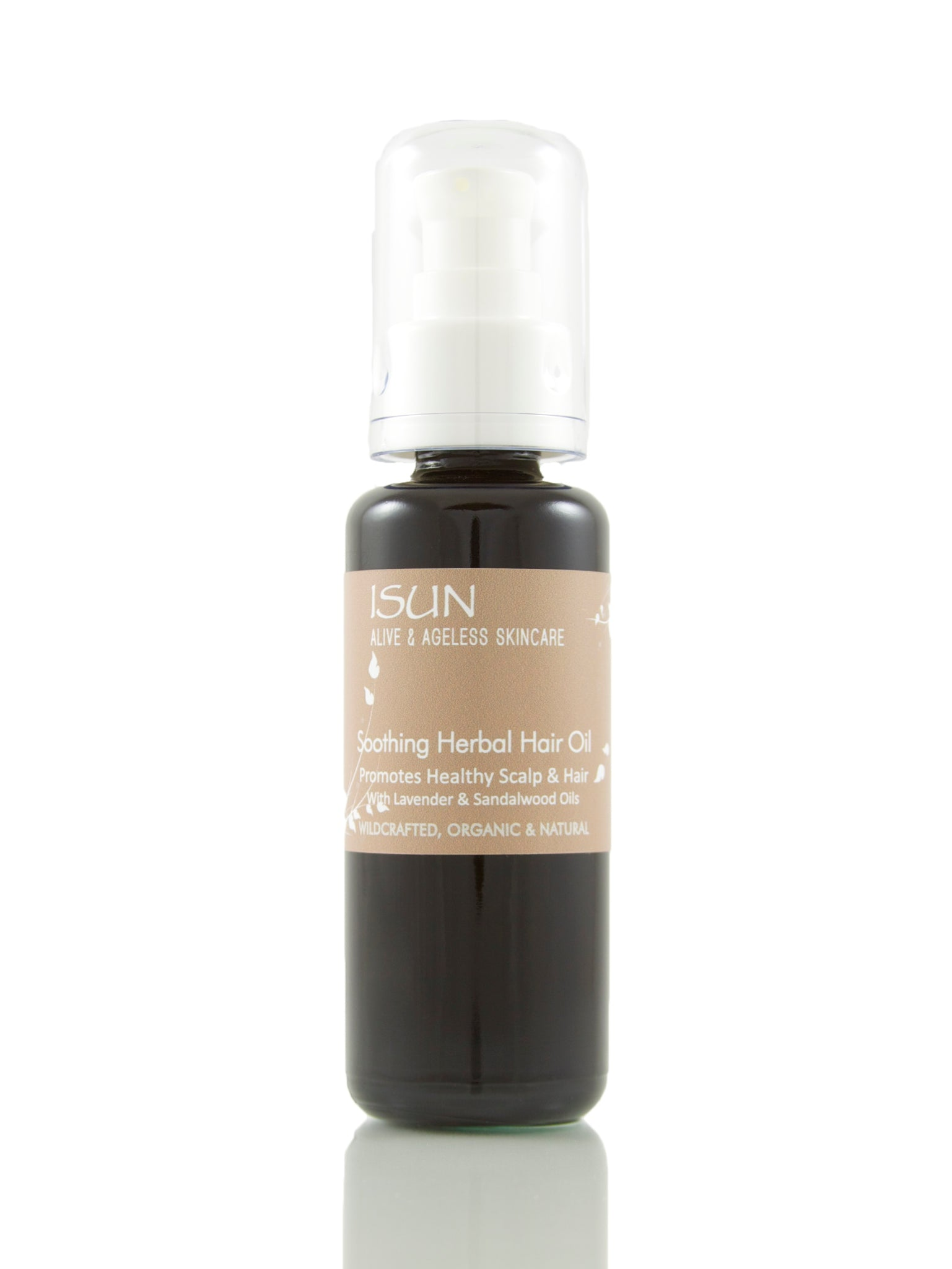 ISUN Soothing Herbal Hair Oil