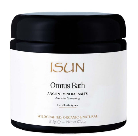 ISUN Skincare Ormus Bath Ancient Mineral Salts