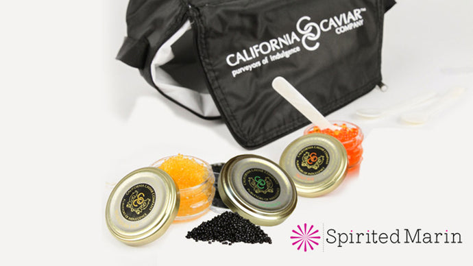 Spirited Marin -California Caviar Company has partnered with Spirited Marin, a local non-profit organization that supports local businesses and charities. We invite you to indulge with us and support Spirited Marin. We are proud to introduce the Spirited Marin Caviar Starter Kit.