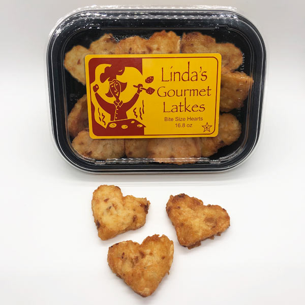 Linda's Heart Shaped Gourmet Latkes