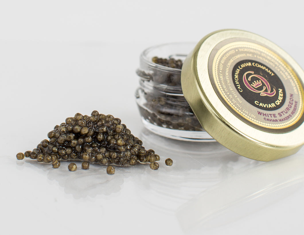 Caviar Queen's Reserve White Sturgeon