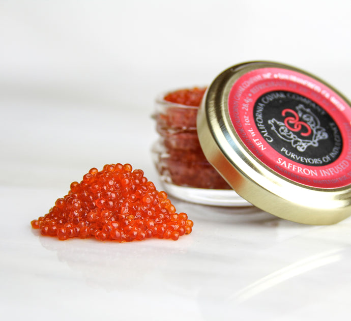 Saffron Infused Whitefish Roe - We use only natural ingredients of the highest quality in our Saffron Infused Whitefish Roe.