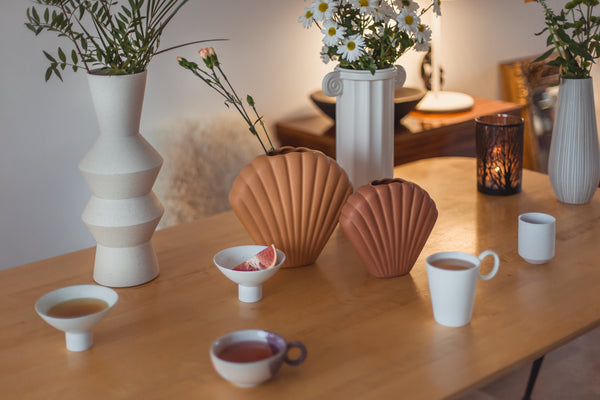 vases coquillage ferm living