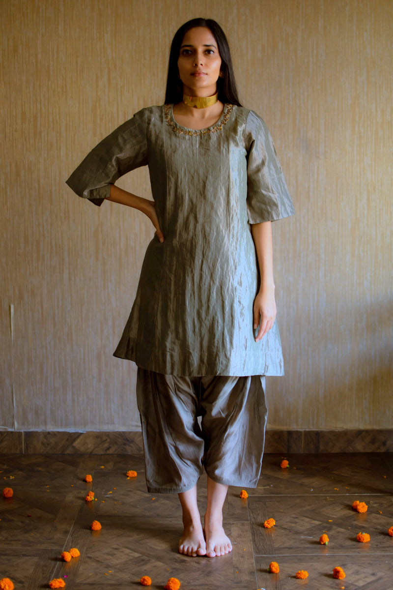 Minnie Kurta With Shalwar