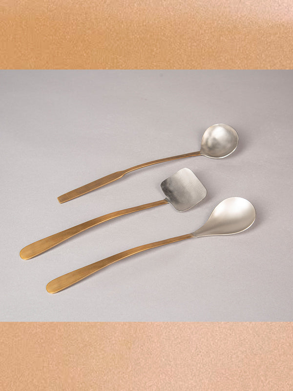 Lila Two Tone Serving Set Set Of 3