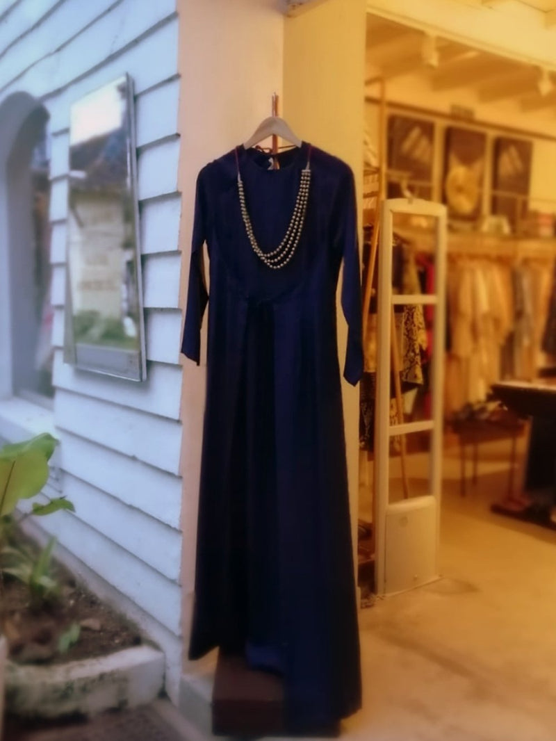 Dress Ianika Angel silk deep