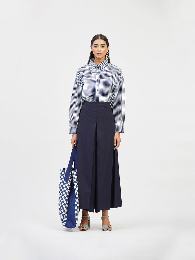 Box Pleated Pants
