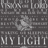 Be Thou My Vision 24x33 Decor Transfer™
