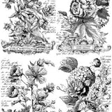 Classic Bouquets 24x33 Paintable™ Decor Transfer™