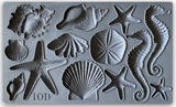SEA SHELLS 6x10 MOULDS