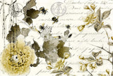 Roycycled Decoupage Paper - Sepia Blossom