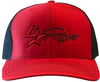Lone Star Ropes Red/Black Mesh Cap
