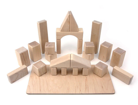 26 pc. My First Block Set Maple Building Blocks - FREE Shipping