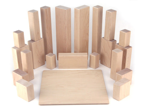 22 pc Rectangle Units & Pillars Booster - FREE Shipping
