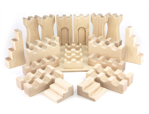 27 pc Deluxe Castle Blocks Booster - FREE Shipping