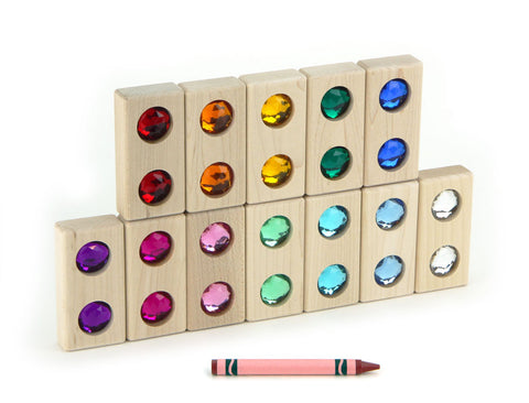 12 pc. Double Gem Blocks - FREE Shipping