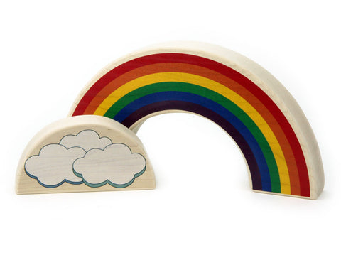 Large Rainbow Arch and Half Circle Building Blocks - FREE Shipping