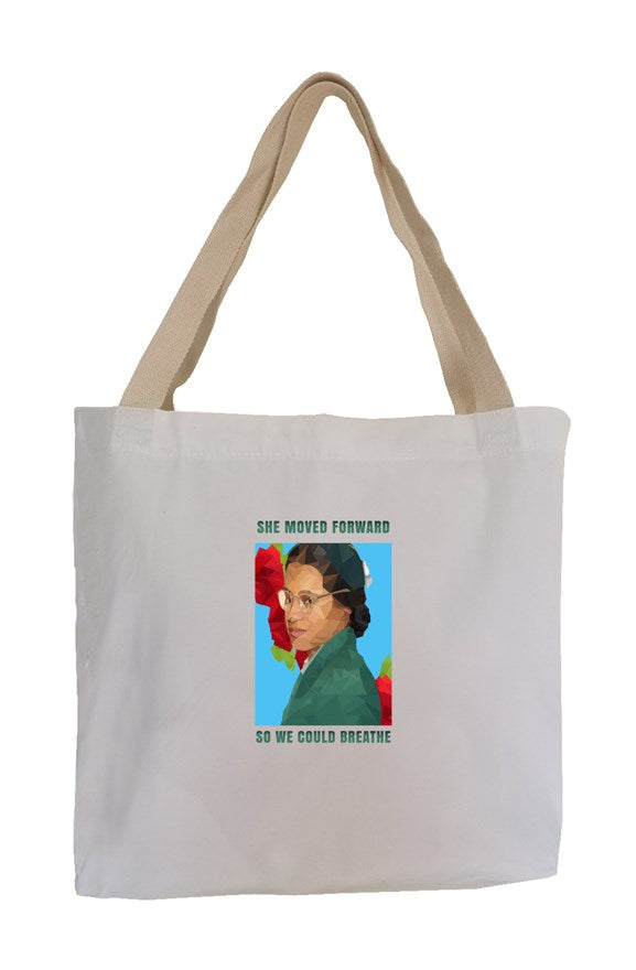 Antoinette Eco Canvas Tote ( #WeWillBreathe)