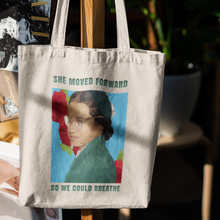 Load image into Gallery viewer, Antoinette Eco Canvas Tote ( #WeWillBreathe)