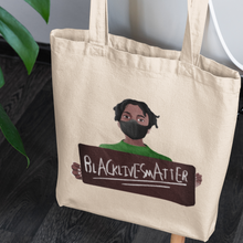 Load image into Gallery viewer, Rayeena Eco Canvas Tote( #WeWillBreathe)