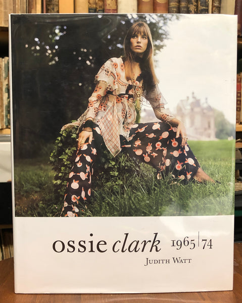 Ossie Clark Fashion Book