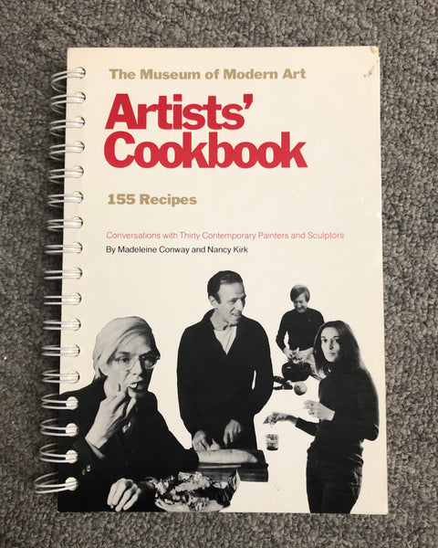 The Museum of Modern Art Arists' Cookbook