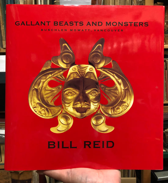 Hardcover Book All The Gallant Beasts and Monsters By Bill Reid Signed with Original Drawing