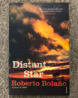 Distant Star by Robeto Bolano softcover book