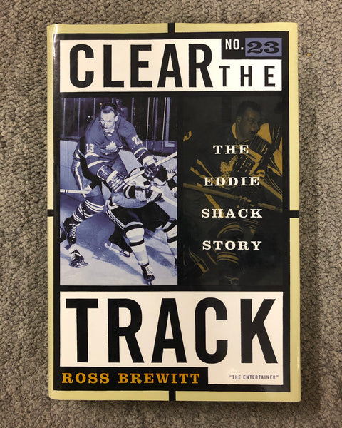 Hardcover Eddie Shack Hockey Book by Ross Brewitt