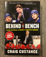 Hardcover Hockey Coaches Book