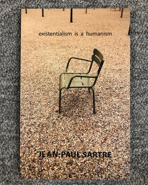 Existentialism Is A Humanism by Jean-Paul Sartre softcover book