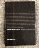 Iphigenia In Forest Hills: Anatomy Of A Murder Trial by Janet Malcolm hardcover book