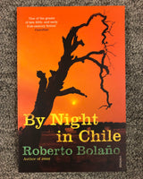 By Night in Chile by Roberto Bolaño softcover book