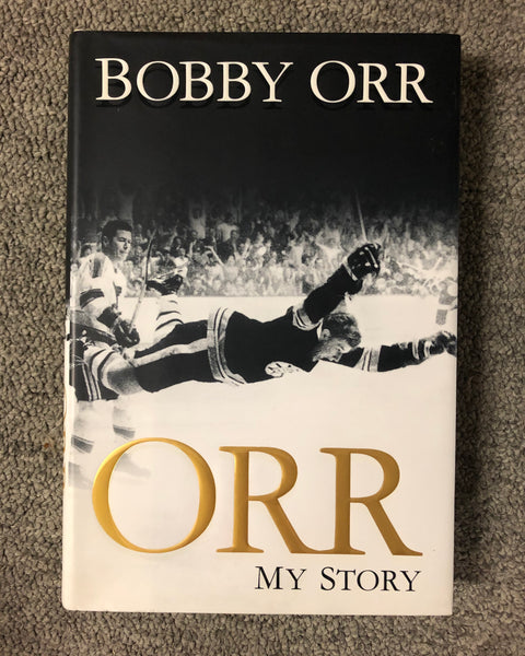 Hockey Book by Bobby Orr