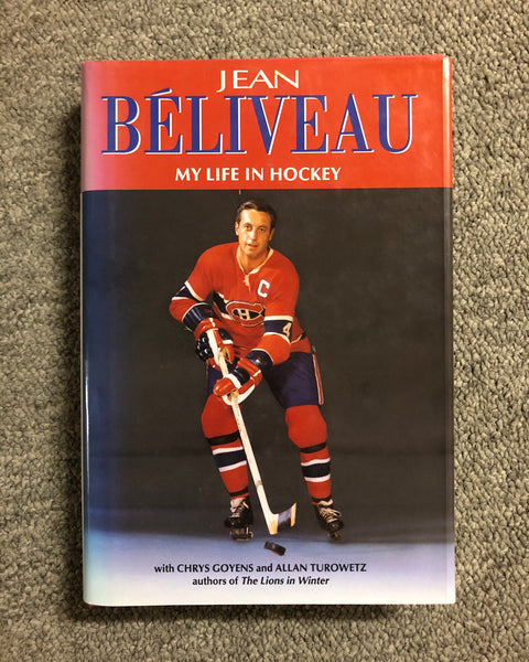 Montreal Canadiens Jean Beliveau Book